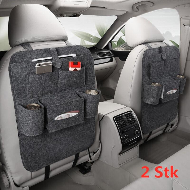 2 X Rücksitztasche Spielzeugtasche Rückenlehnentasche Auto Tasche Organizer PKW