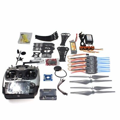 DIY RC Drone RTF X4M360L Frame Kit with GPS  APM 2.8 AT9S Transmitter RX