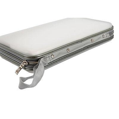 80 Disc CD DVD Portable Wallet Storage Organizer Holder Case Bag Album Box White