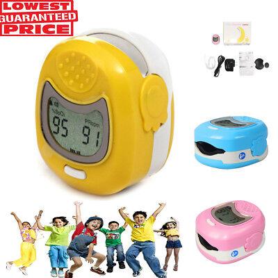 Pediatricchildrenkids Fingertip Lcd Ce Fda Pulse Oximeter Spo2 Pulse Rate 50q
