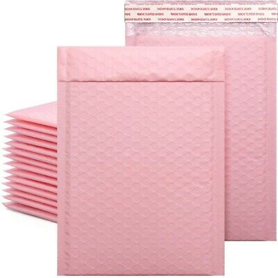 50pcslot Bubble Envelope Bag Pink Bubble Self Seal Mailing Bags Envelopes 2021