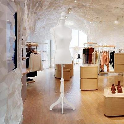 Female Mannequin Torso Designer Pattern Dress Form Display Tripod Base New G6f1