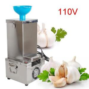 Garlic Peeling Machine Electric Garlic Peeler 110V Household and Commercial DRY (022179)