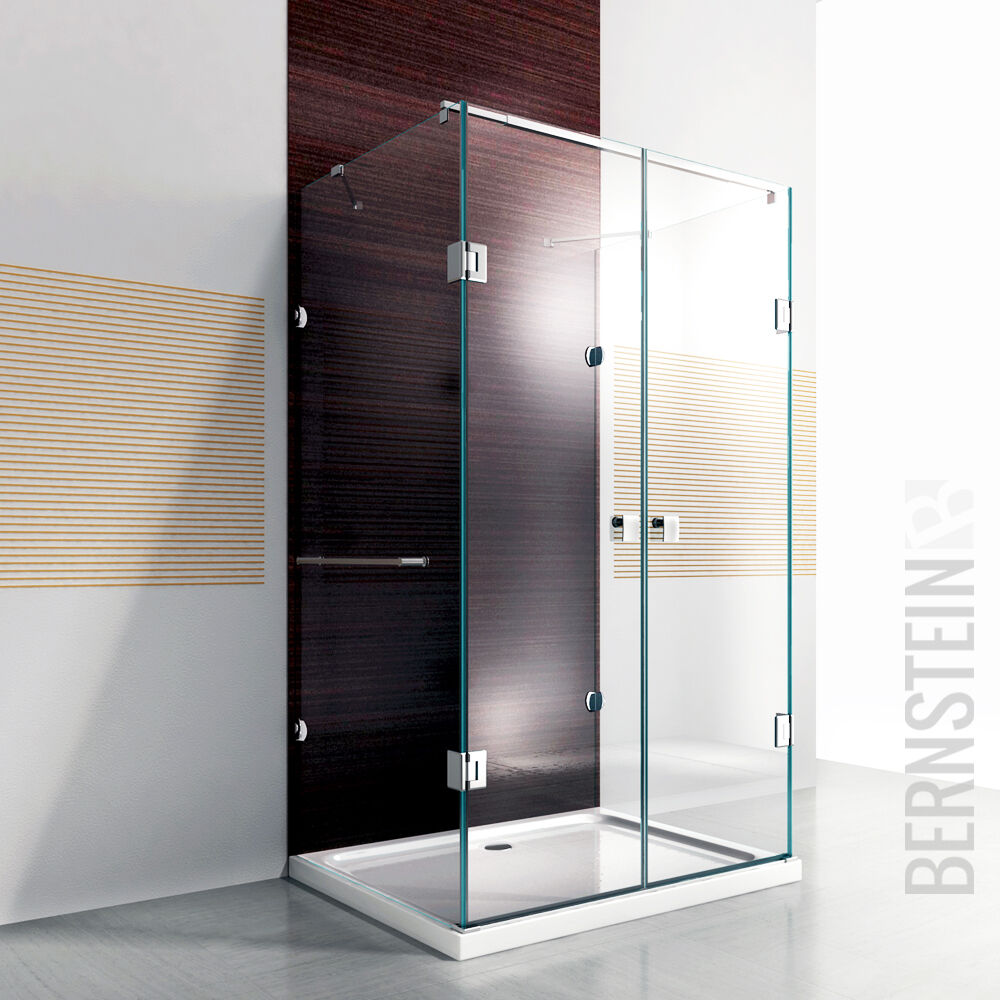dusche duschkabine u form duschabtrennung 8mm esg glas. Black Bedroom Furniture Sets. Home Design Ideas