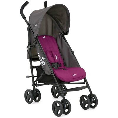 JOIE NITRO ROSY STROLLER/BUGGY WITH RAINCOVER AND FREE FAST DELIVERY