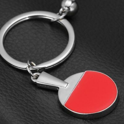 Useful Ornament Racket Exercise Sports Key Chain Table Table Tennis Tennis