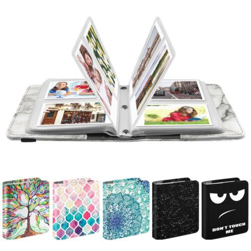 Mini Photo Album 104 Pockets For Fujifilm Instax Mini 8/9 Mini 90/25,HP Sprocket