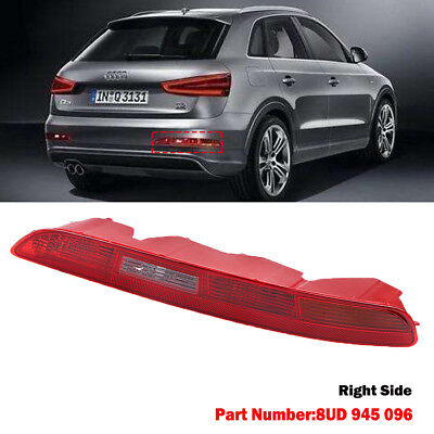 For AUDI Q3 2011-2014 REAR LOWER BUMPER TAIL LIGHT LAMP RIGHT DRIVERS SIDE O/S