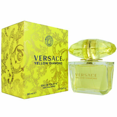 Versace Yellow Diamond for Women 3.0 oz Eau de Toilette Spray