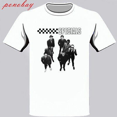 New The Specials 2 Tone Ska Band Men's White T-Shirt Size S M L XL 2XL 3XL 2 Tone Tee