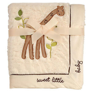 Koala Baby Giraffe Cuddle Plush Blanket Sweet Little Baby-NEW