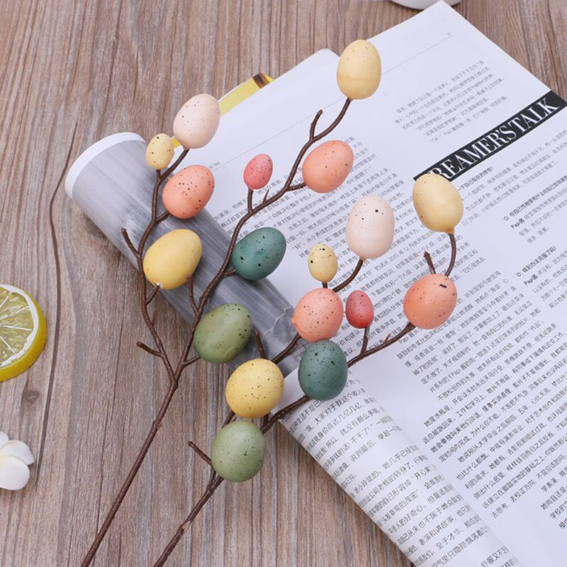 Toy Gifts Hanging Ornaments DIY Painting Easter Decoration Egg Tree Branches