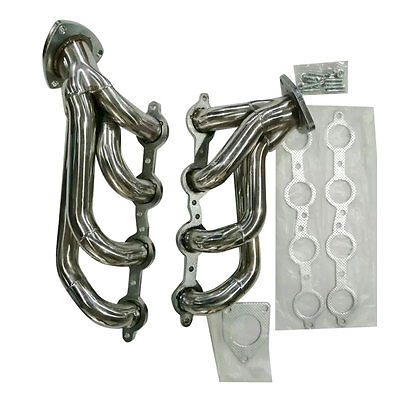 Stainless Racing Manifold Shorty Header For Silverado 1500 2500 4.8/5.3/6.0L -