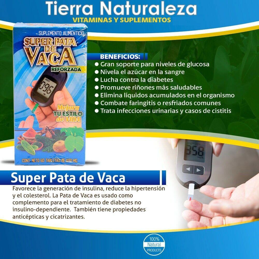 Super pata de vaca Formula Herbolaria de Mexico