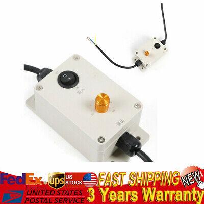 220v110v Ac Vibration Motor Governor Variable Adjusted Speed Controller 1pc