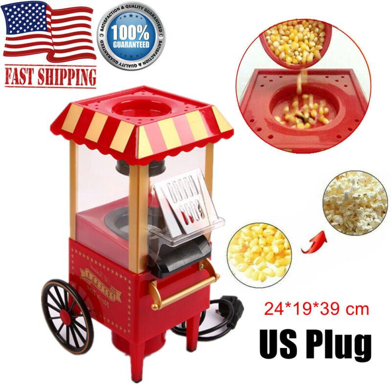 Mini Electric Popcorn Maker Machine Air Pop Corn Making Trol