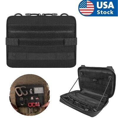 Tactical Admin Pouch Molle Tool Bag Utility Organizer EDC Medical Bag Waist Belt
