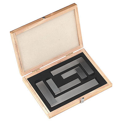 New Machinist Steel Hardened Square Set Ground Tool 2 3 4 6 New Din875