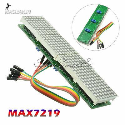 Max7219 Dot Led Matrix Mcu Control Led Display Module For Arduino Raspberry Pi S