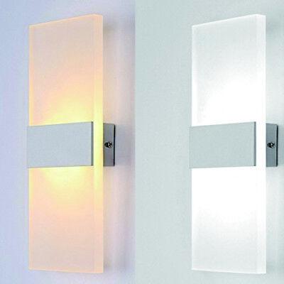 Modern 3W 6W 12W LED Wandlampe Wandleuchte Innen Flurleuchte Treppen Leuchte DHL