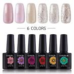 6 stks Gel Nagellak Art 10 ml Losweken Gel Nail Polish Set
