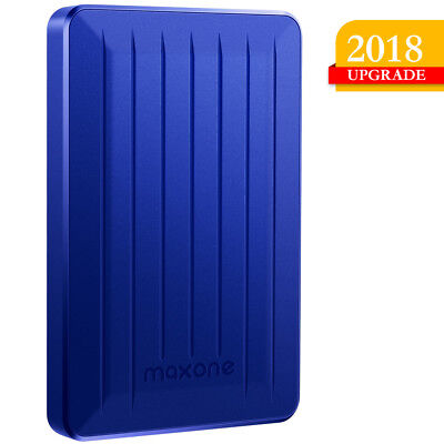 160GB Portable External hard drive HDD USB 3.0 Notebook/Desktop/Mac/Chromebook
