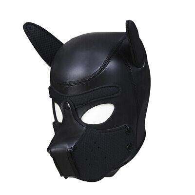 Hund Maske Gummi-Neopren Material Party Dekoration Hohe Qualität (Maske Hund)