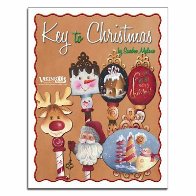 DIY Paint Key to Christmas Creative Decoration Ideas by Sandra Malone New - Christmas Diy Ideas