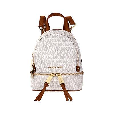 Michael Kors Rhea Mini Logo Canvas Ladies Backpack 30S7GEZB1V150