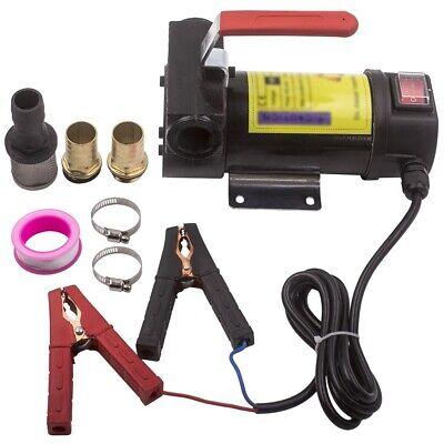 Electric Fuel Transfer Pump 12v Dc 175w For Diesel Kerosene Oil Self Priming