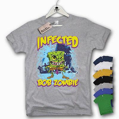 T-Shirt - BOB ZOMBIE - Funshirt TRASH lustig - Lustige Zombie T Shirt