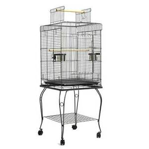 New 145cm Bird Cage Canary Parrot Budgie Pet Aviary Stand Wheel Sydney City Inner Sydney Preview