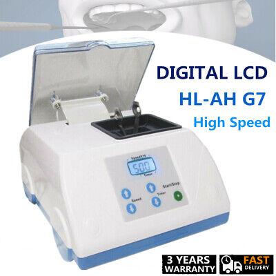 Electric Dental Lab Amalgamator Mixer Amalgam Capsule Mixing Machine 110v Lcd Us