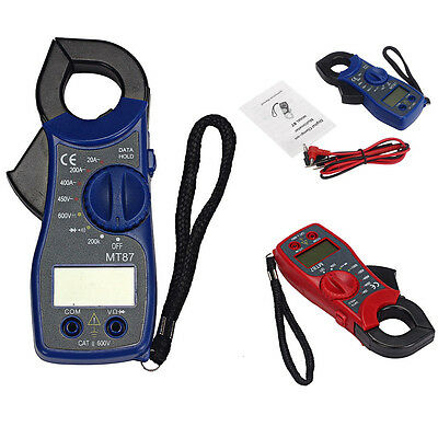 Lcd Digital Auto Range Clamp Multimeter Tester Ac Dc Volt Ohm Meter Hot Sale