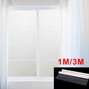 Rotolo pellicola effetto opaca adesivo per finestre vetro bagno 100 300x60cm pvc ebay - Pellicola a specchio per finestre ...