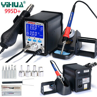 Yh 995d Bga Rework Soldering Station Smd Repair Welding Solder Iron Hot Air Gun