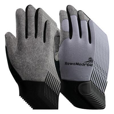KCL RewoMech 640 Montagehandschuhe, 10 Paar, Gr. 12, Schutzhandschuh aus Leder
