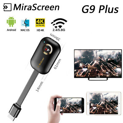 MiraScreen inalámbrico Dongle WIFI 4KUHD Pantalla Adaptador Android iOS Mac Wins