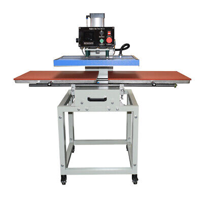 Bottom Sliding Pneumatic Double Station Heat Press Machine 16 X 24