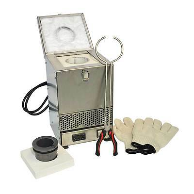 Stainless Steel Tabletop Melting Furnace With 2kg Crucible 110 Volt - Hd-234ss