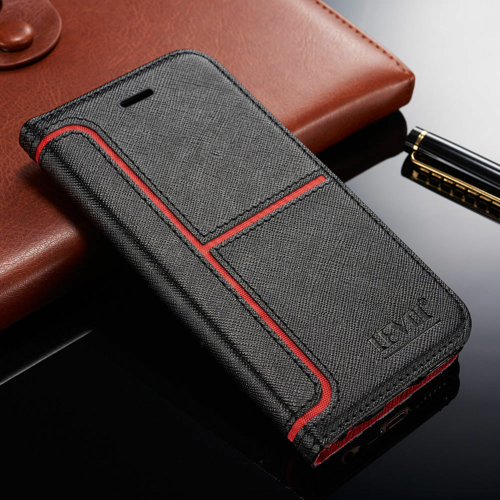 best loved a7c1a 6a341 Details about Magnetic Flip Stand Cover Wallet Leather Case For Samsung  Galaxy S8 / S8 Plus