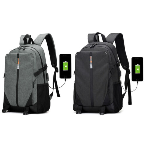 Men Backpack Laptop Water Resistant Anti-Theft USB Charging