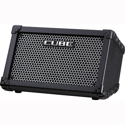 """Roland CUBE Street 5-W 2 x 6.5"""" Battery Powered Guitar Combo Amp PA w/ Effects"""