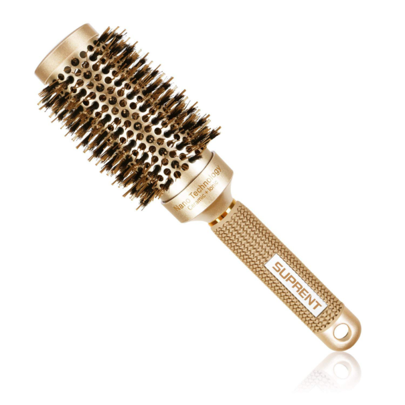 SUPRENT Nano Thermal Ceramic & Ionic Round Barrel Hair Brush