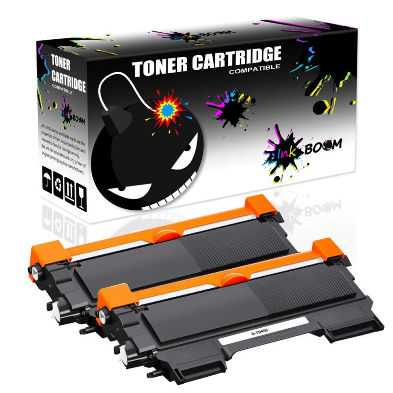 2BK Toner fits Brother TN450 TN420 HL-2240 HL-2270DW 2230 MFC-7360N DCP-7060D