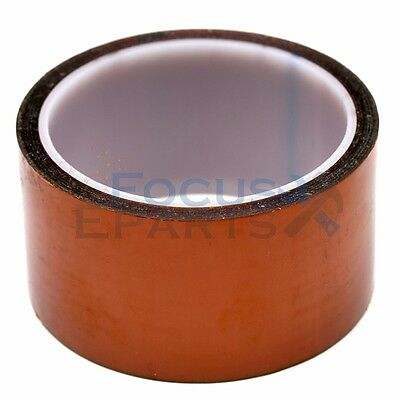 150mm X 100ft Gold High Temperature Heat Resistant Kapton Tape Polyimide Bga
