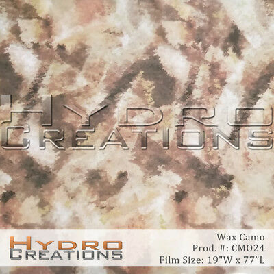 Hydrographic Film For Hydro Dipping Water Transfer Film Wax Camo