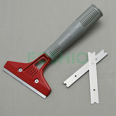 """Wall Scraper w/ Long Grip 10 x 4"""" Blades Car Sticker Paint Remover Cleaning Tool"""