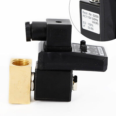 Ac 110v 12 2-way Electronic Timed Air Compressor Tank Automatic Drain Valve
