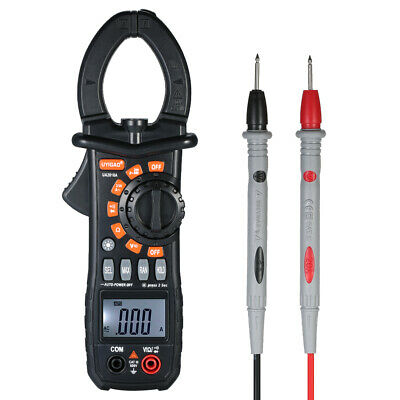 UA2018A Digital Clamp Meter Widerstand Multimeter AC DC Strom Volt Tester O8R8 Digital Clamp Multimeter Tester